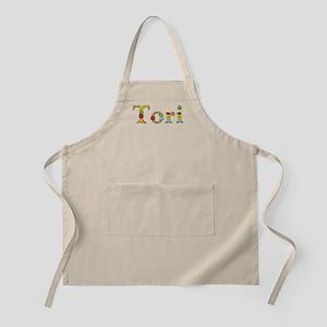 Tori Bright Flowers Apron