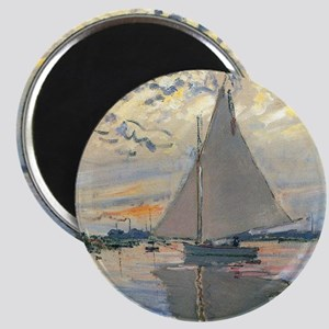 Monet Sailboat French Impressionist Magnets