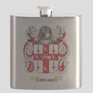 Nolan Coat of Arms (Family Crest) Flask