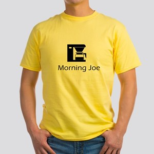 Morning Joe Yellow T-Shirt
