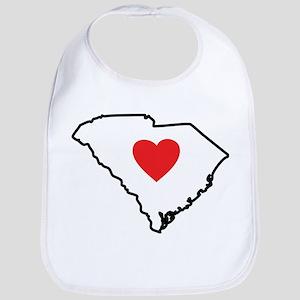 South Carolina Heart Bib
