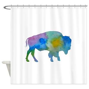 Bison Shower Curtains