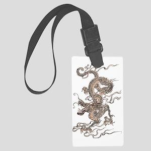 Chinese Dragon Large Luggage Tag