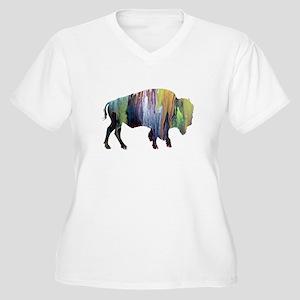 Bison / Buffalo Plus Size T-Shirt