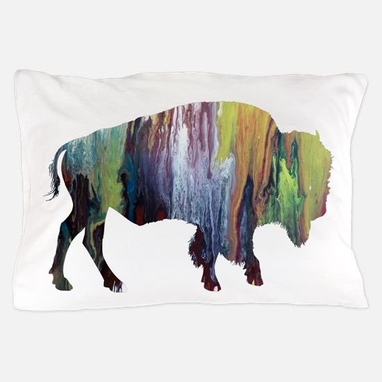 Bison / Buffalo Pillow Case