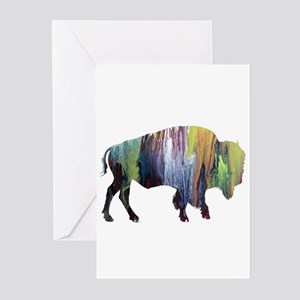 Bison / Buffalo Greeting Cards