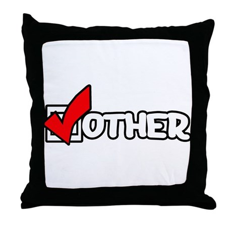 I CHECK Other Throw Pillow