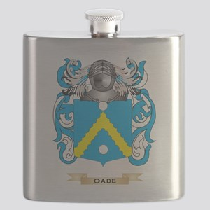 O' Nuallain Coat of Arms (Family Crest) Flask