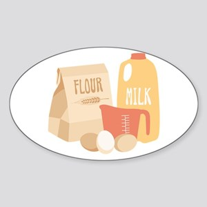 Flour Milk Sticker