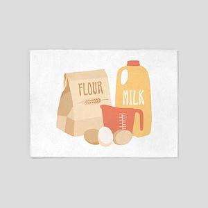 Flour Milk 5'x7'Area Rug
