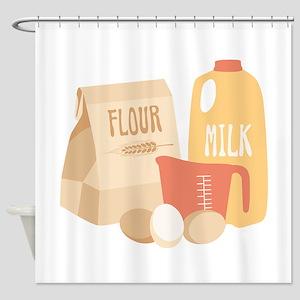 Flour Milk Shower Curtain