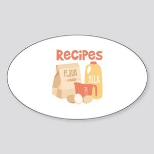 Recipes Sticker