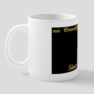 Werewolf Speed Shop - 1 year plate hold Mug