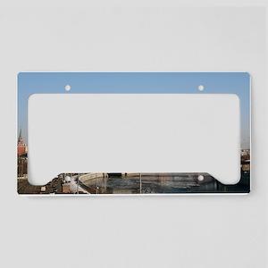 Moscow_4x9.25_FlatCard_Kremli License Plate Holder