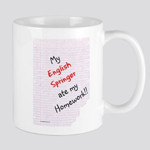 Springer Homework Mug