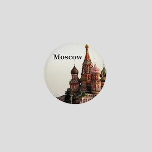 Moscow_6x6_v1_RedSquare Mini Button