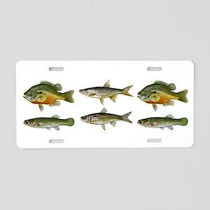 Freshwater Fish Aluminum License Plate