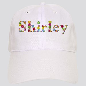 Shirley Bright Flowers Baseball Cap