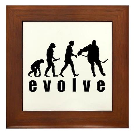 Evolve Hockey Framed Tile