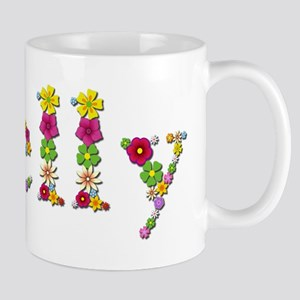 Shelly Bright Flowers Mugs