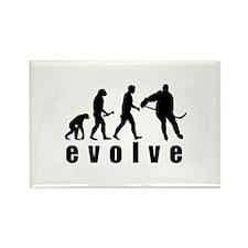 Evolve Hockey Rectangle Magnet