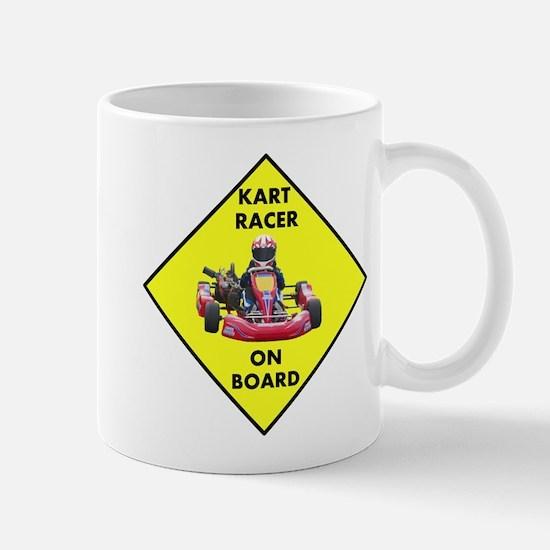 Kart Racer On Board Mugs