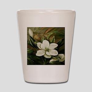 Magnolia Shot Glass