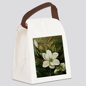 Magnolia Canvas Lunch Bag