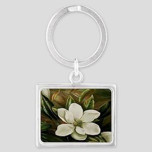 Magnolia Landscape Keychain