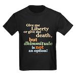 No dhimmitude Kids Dark T-Shirt