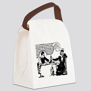 Captive Audience Canvas Lunch Bag