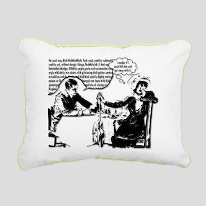 Captive Audience Rectangular Canvas Pillow