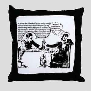 Captive Audience Throw Pillow