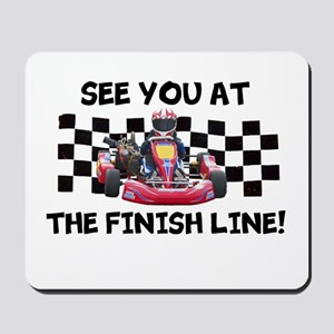 Finish Line Mousepad