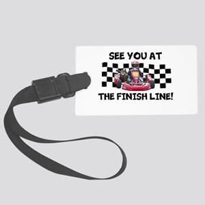 Finish Line Luggage Tag