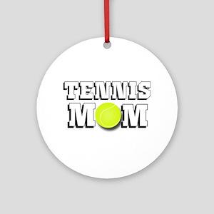 Tennis Mom Ornament (Round)