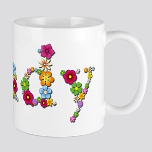 Sandy Bright Flowers Mugs