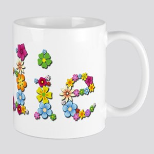Sadie Bright Flowers Mugs