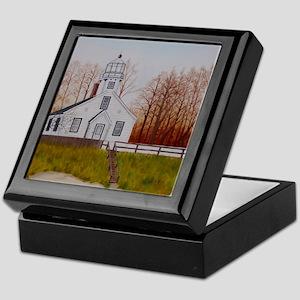 Mission Point Lighthouse Keepsake Box