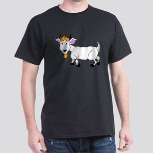 Cartoon Billy Goat Dark T-Shirt