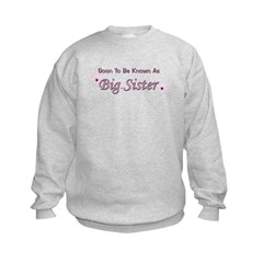 Soon To Be Big Sister Sweatshirt