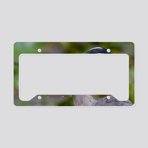 Blue Catfish License Plate Holder