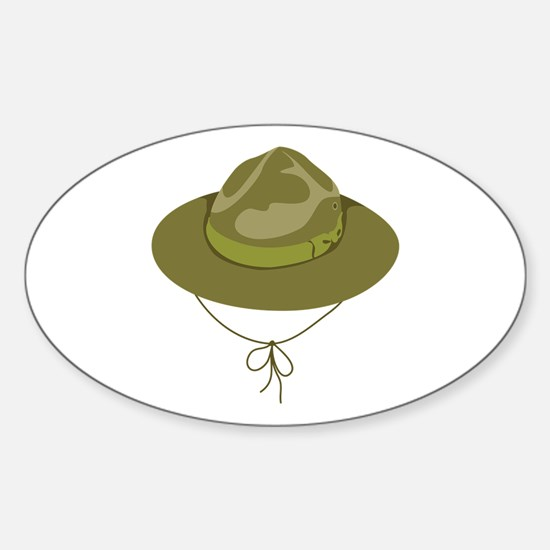 Scout Hat Decal