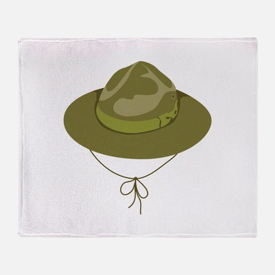Scout Hat Throw Blanket