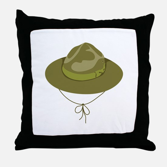 Scout Hat Throw Pillow