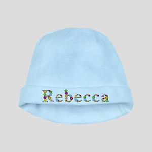 Rebecca Bright Flowers baby hat