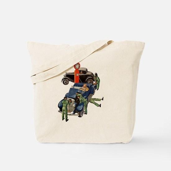 Vintage Mechanics Tote Bag