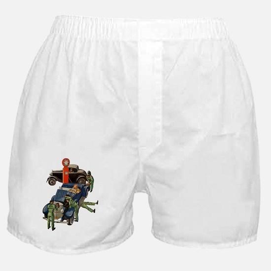 Vintage Mechanics Boxer Shorts
