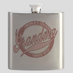 Worlds Greatest Grandma Flask