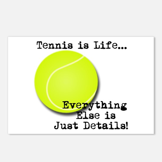 Tennis is Life... Postcards (Package of 8)